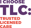 Trusted Licensed Care logo